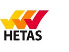 Image of the HETAS logo